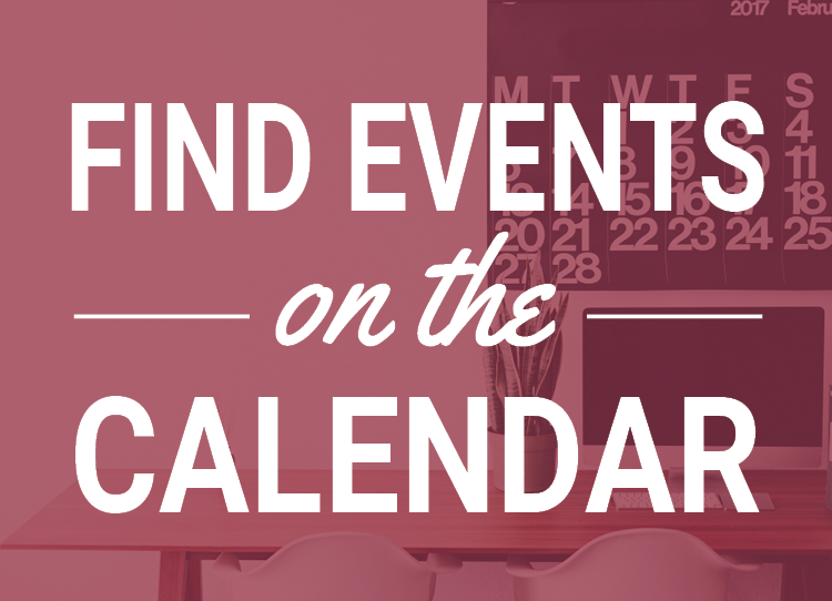 Find events on the calendar