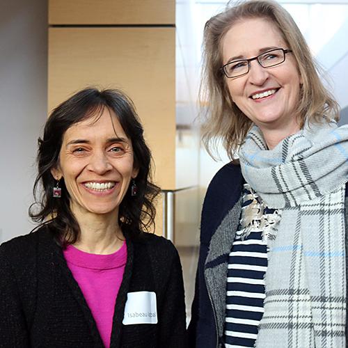 Isabeau Iqbal and Daria Ahrensbach