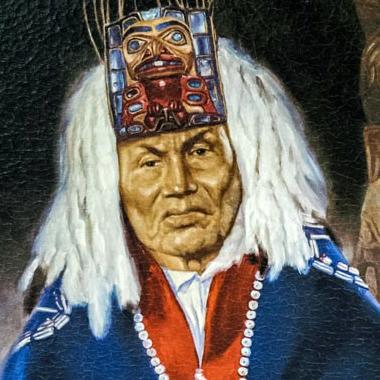 Haida chief